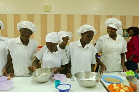 Kimlea food preparation