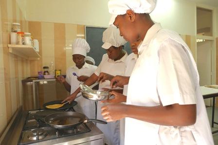 Kimlea pancake making